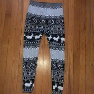 Pants - THICK leggings, size small